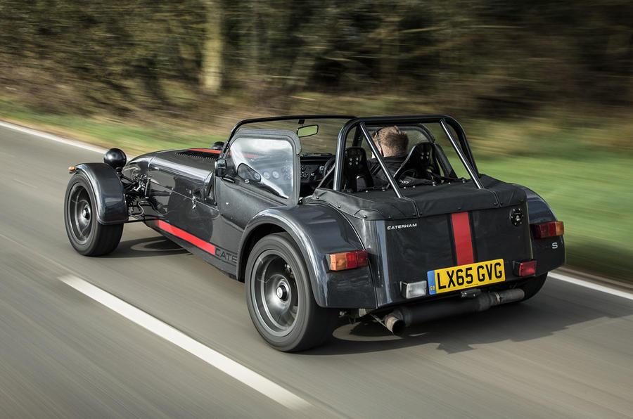 Caterham 620S rear