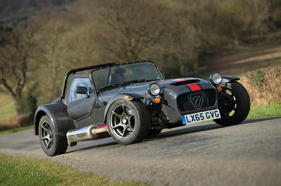 4.5 star Caterham 620S lightweight