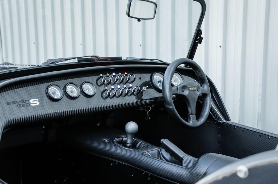 Caterham 620S front seat
