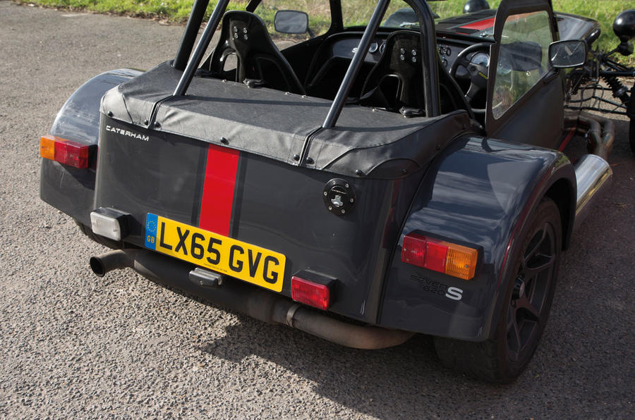 Caterham 620S rear end