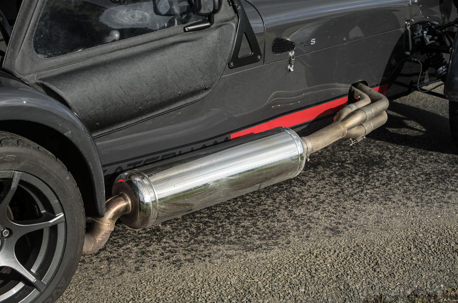 Caterham 620S exhaust system