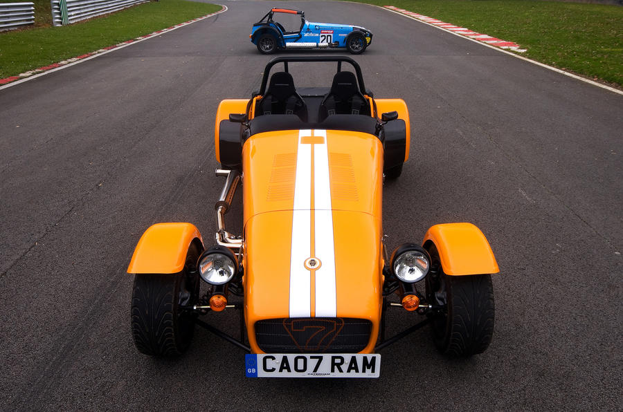 New Caterham Seven launched