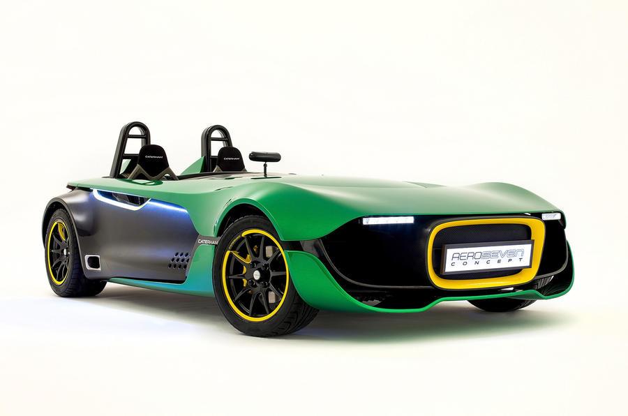 Caterham AeroSeven concept revealed