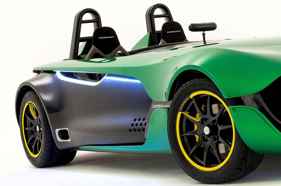 Caterham AeroSeven concept revealed