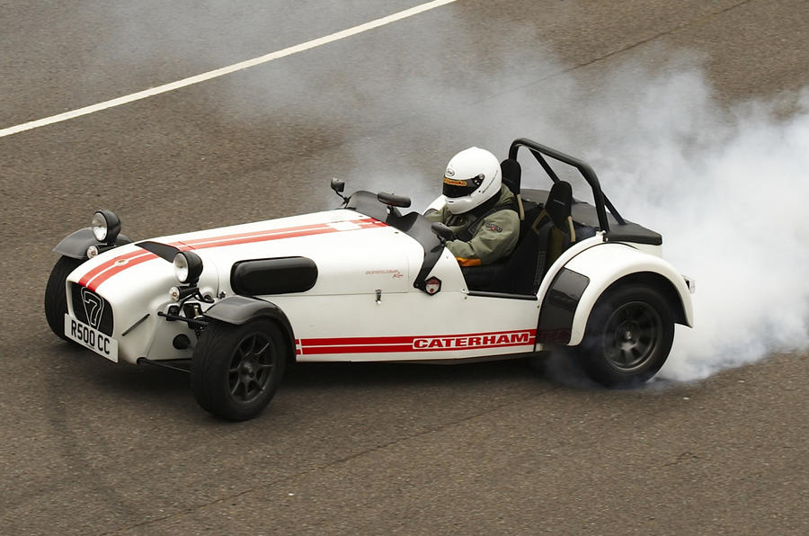 Final Caterham Superlight R500 Rolls Off The Production Line