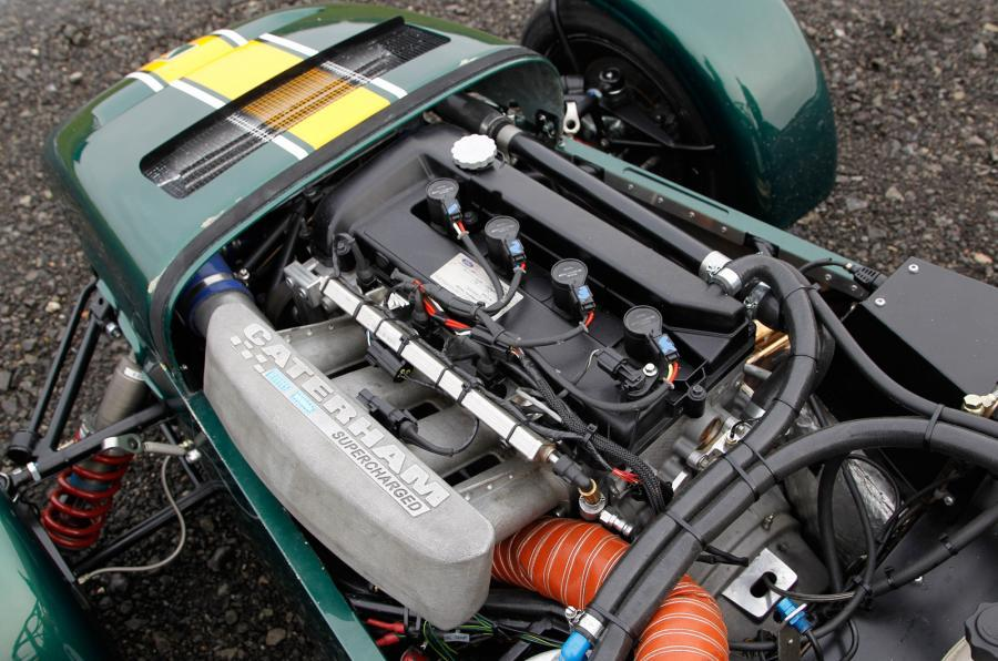 Caterham R600 supercharged petrol engine