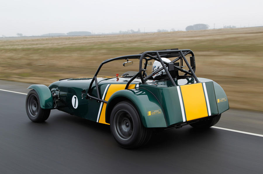 First Drive Review Caterham R600 Review Autocar