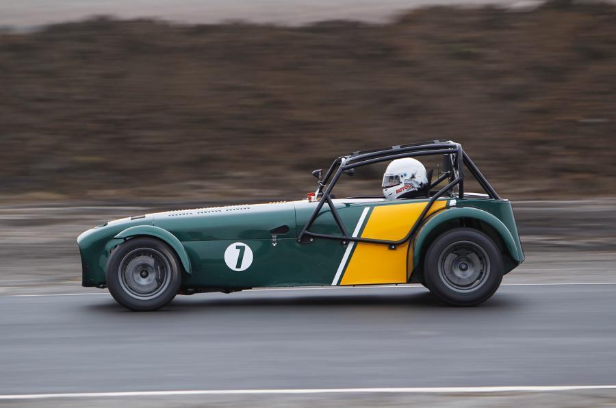 Lightweight Caterham R600 track car