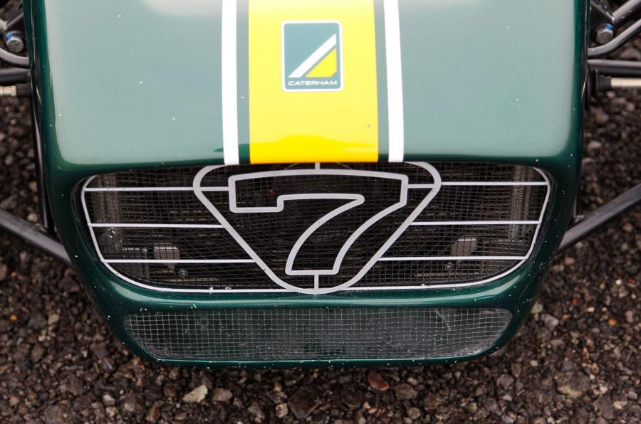 Caterham R600 front grille