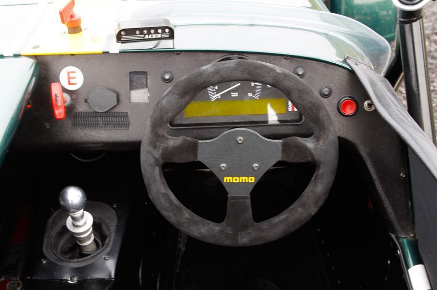 Caterham R600 spartan interior