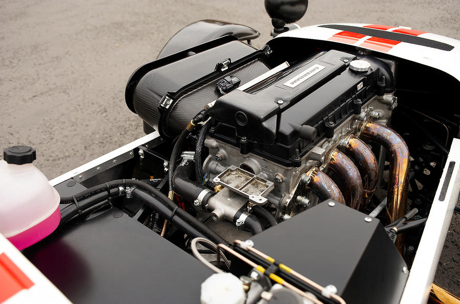 Caterham Seven Superlight Ford-derived engine