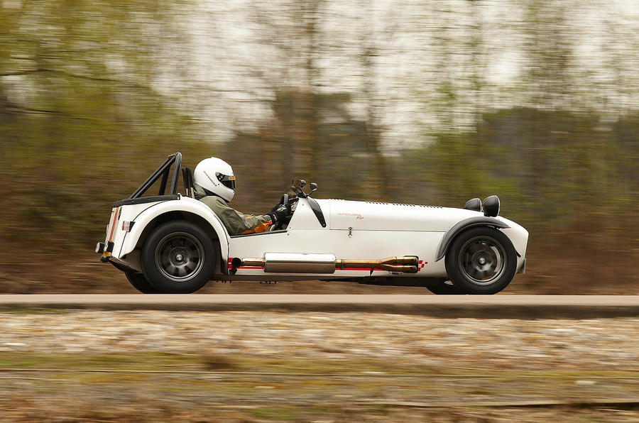 Caterham Seven Superlight side profile