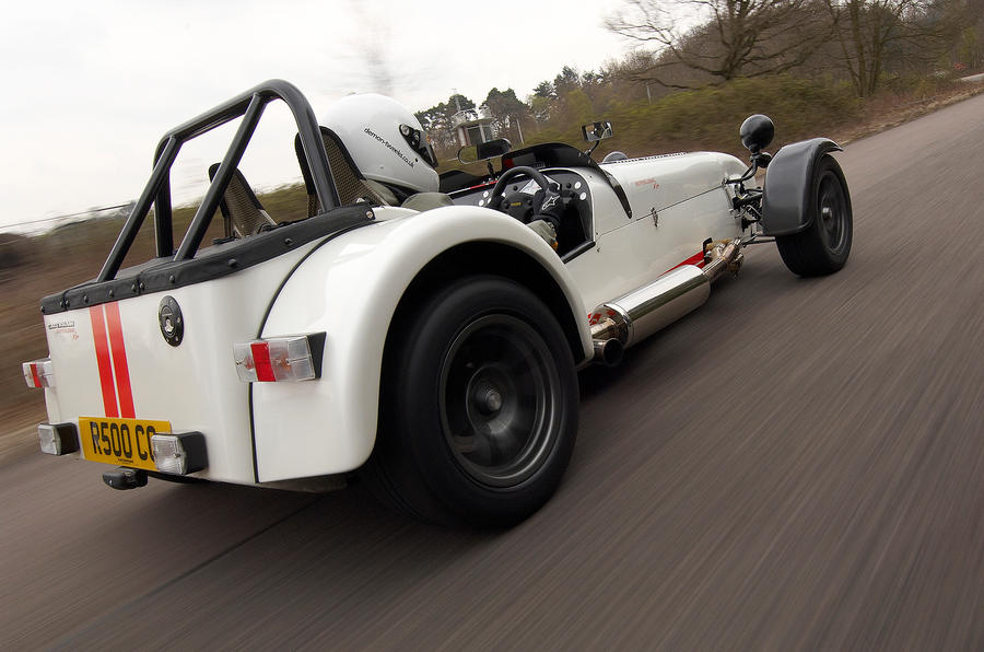 Caterham Seven Superlight rear quarter