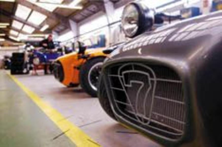 Ex-Lotus man buys Caterham
