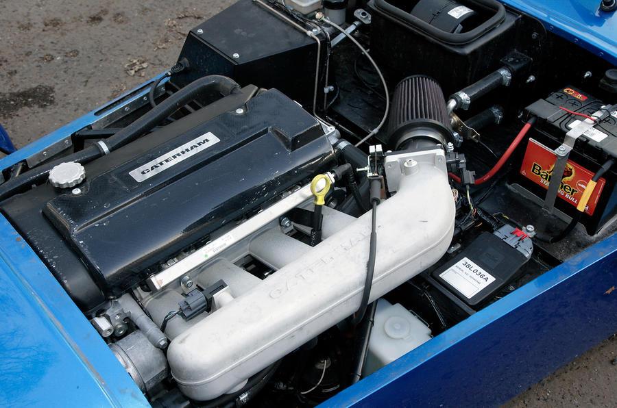 Caterham Seven Rover K-Series engine