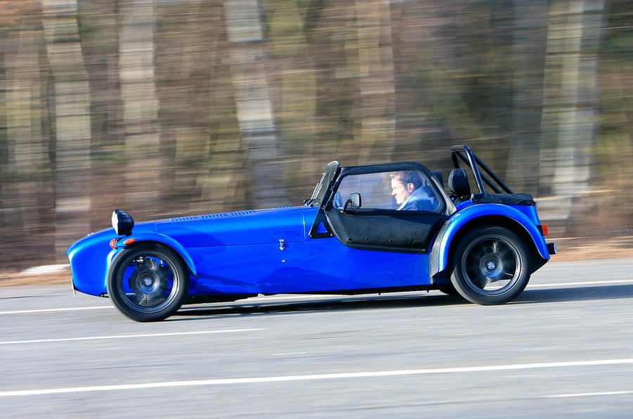 4 star Caterham Seven