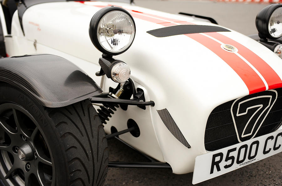 Caterham Seven Superlight front nose