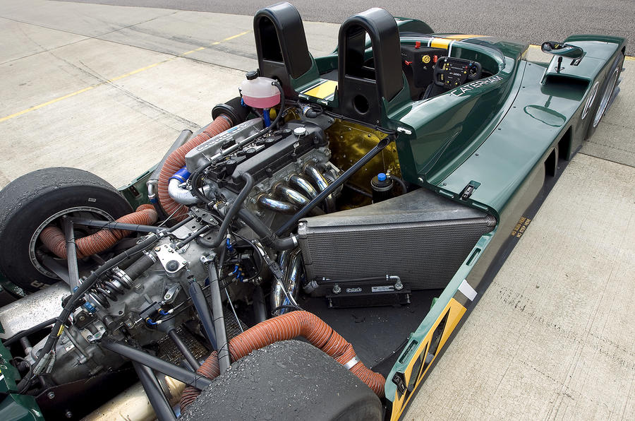 Caterham SP300R race-tuned engine