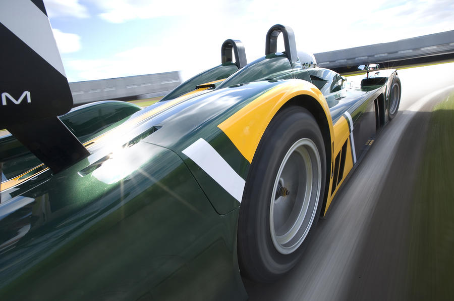Caterham SP300R rear quarter