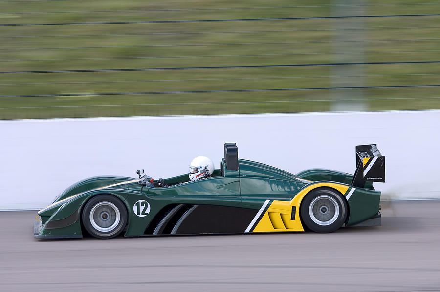 Caterham SP300R side profile