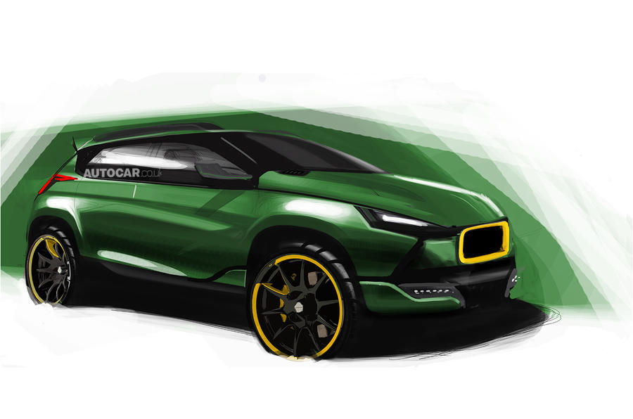 New Caterham SUV previewed unofficially