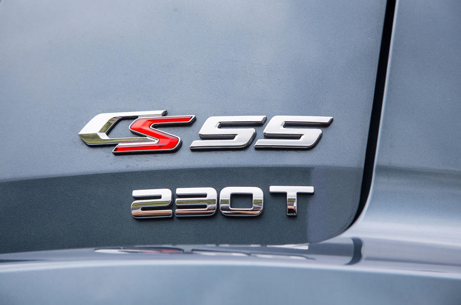 Changan CS55 badging