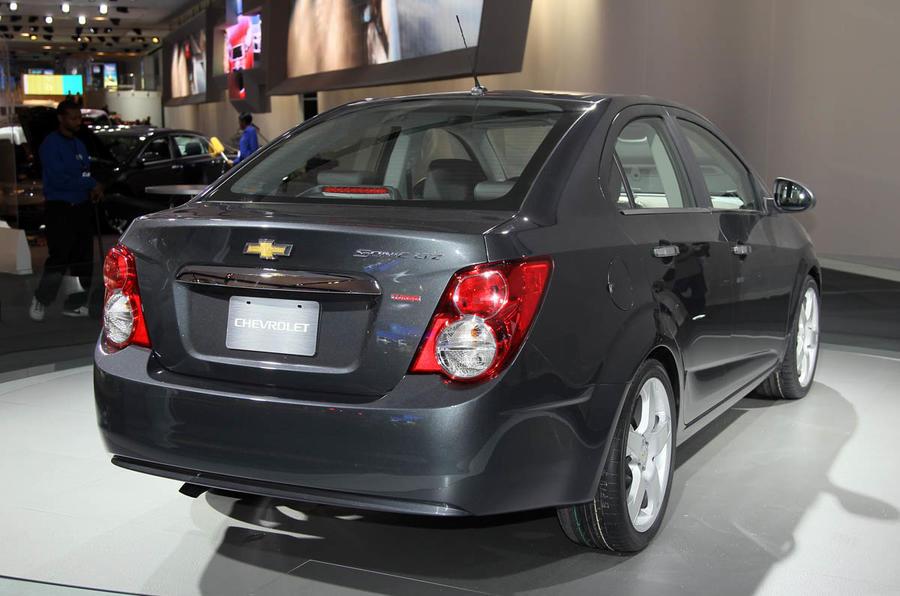 Detroit motor show: Chevrolet Sonic