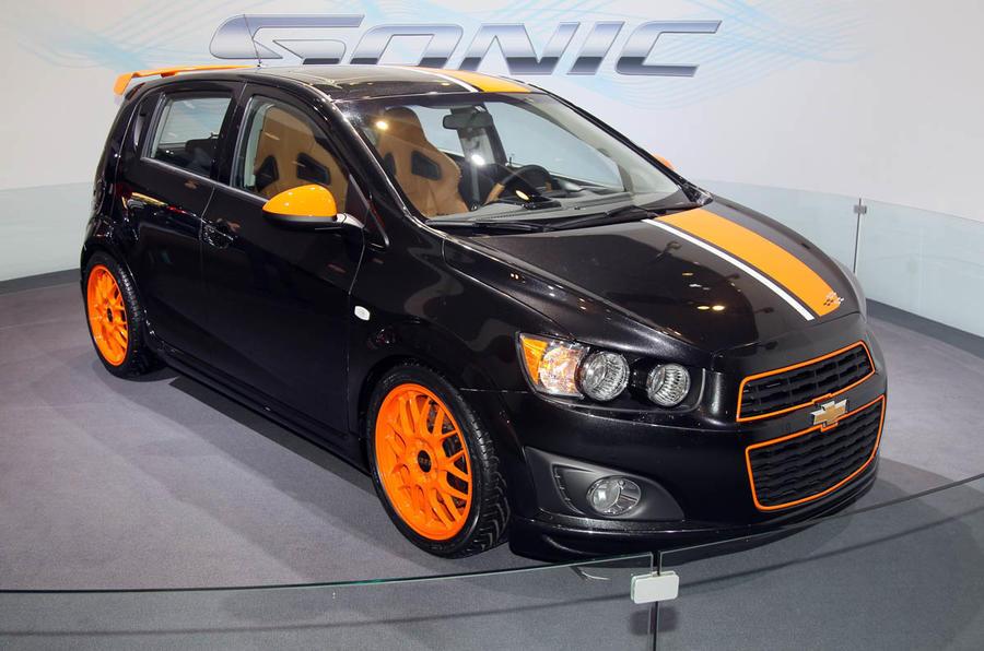 Detroit motor show: Chevy Sonic Z-Spec