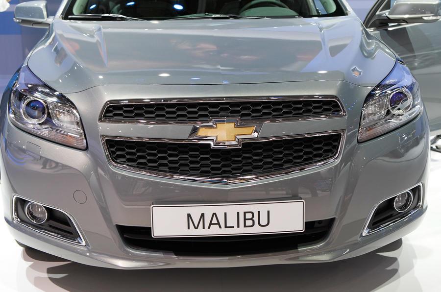 Frankfurt show: new Chevrolet Malibu