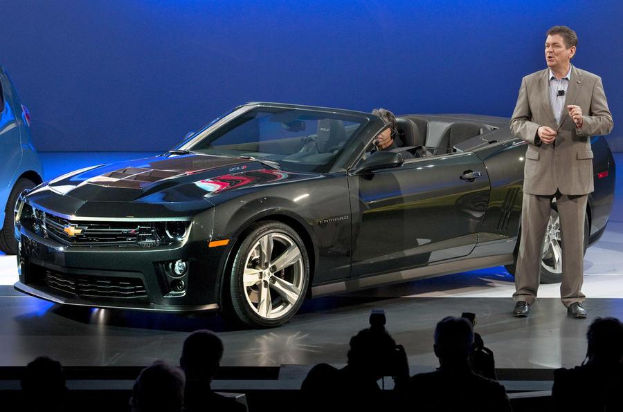 LA show: Camaro ZL1 Convertible