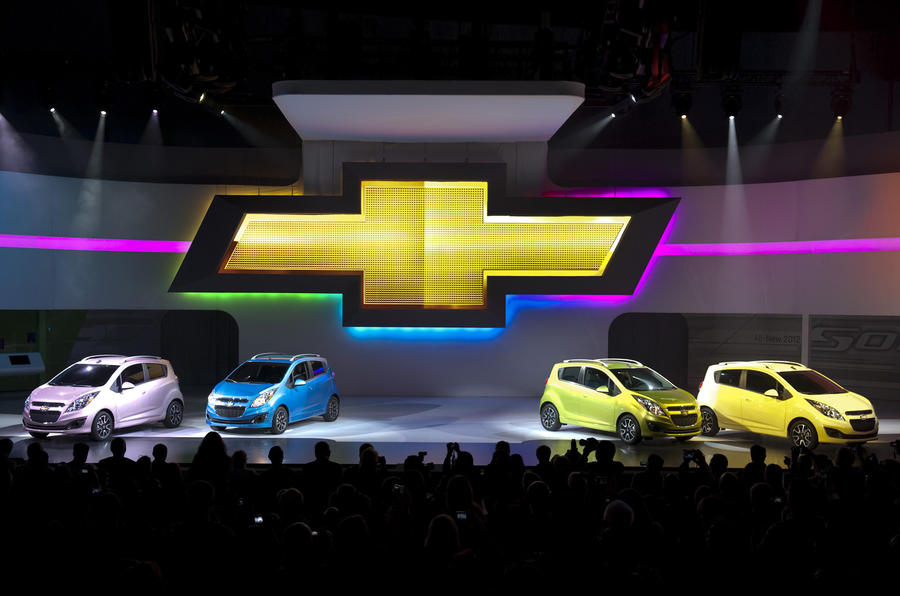 LA show: Chevy Spark and Spark EV