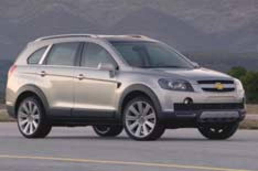 Chevrolet's new model explosion