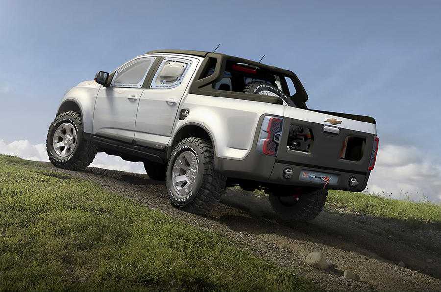 Chevy Rally Colorado revealed
