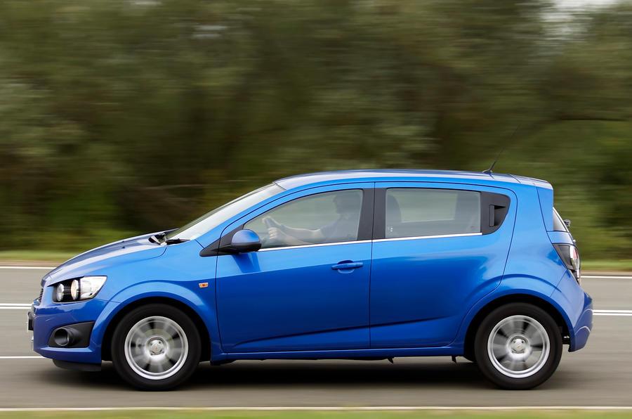 Economy-minded Chevrolet Aveo
