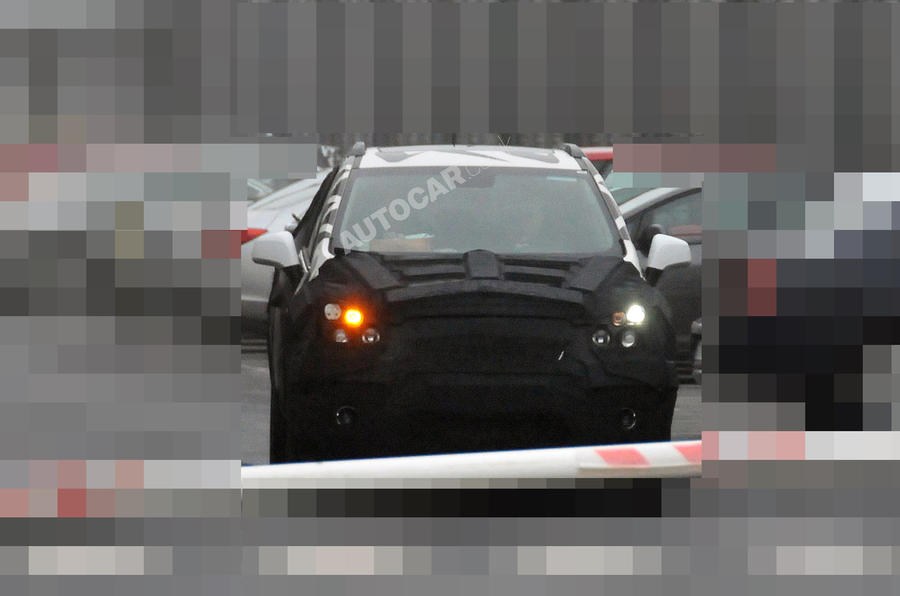 Chevy's baby SUV - first pics
