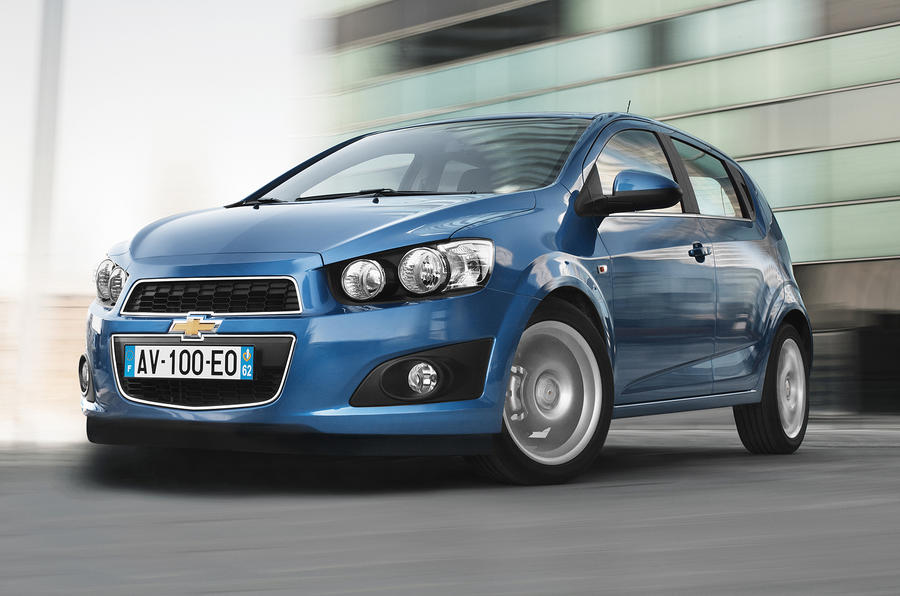 Chevrolet Aveo from £9995