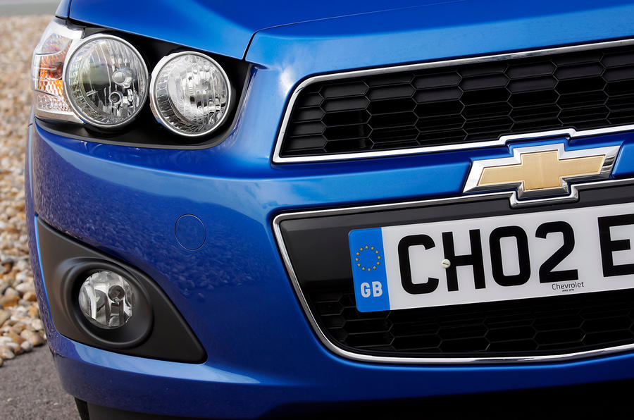 Chevrolet Aveo headlights