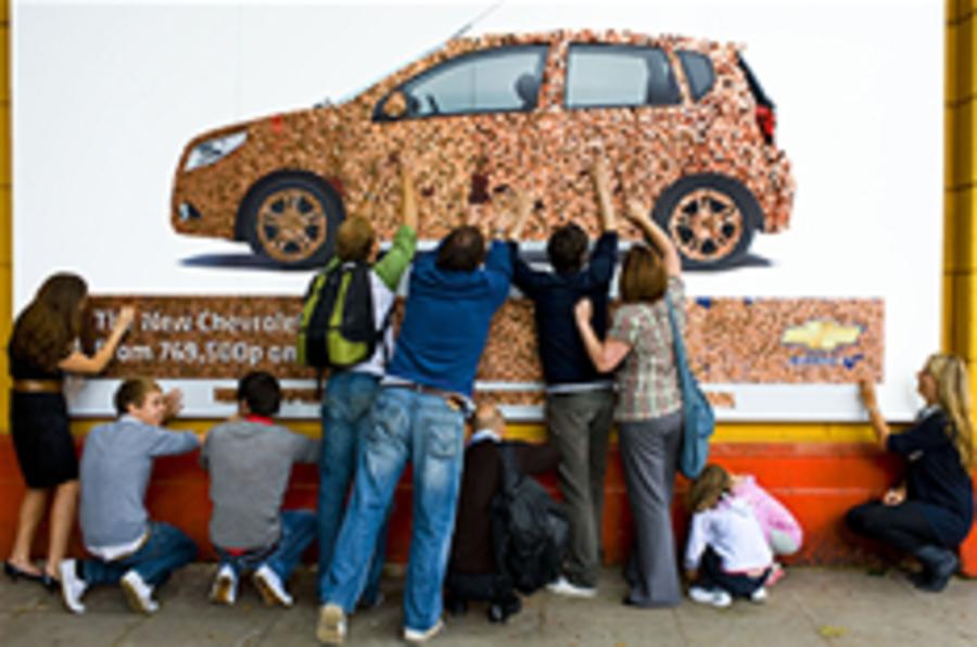Chevrolet's £2000 publicity stunt