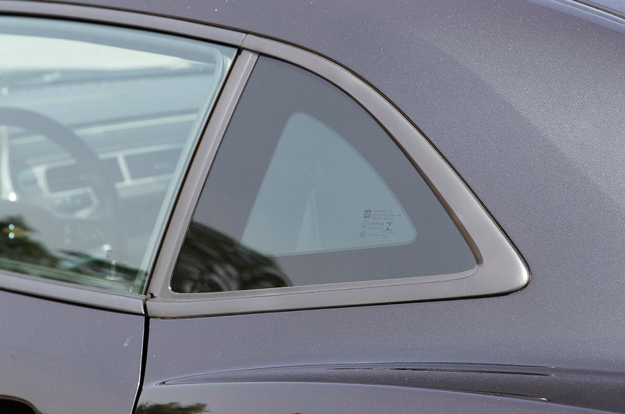 Chevrolet Camaro rear window