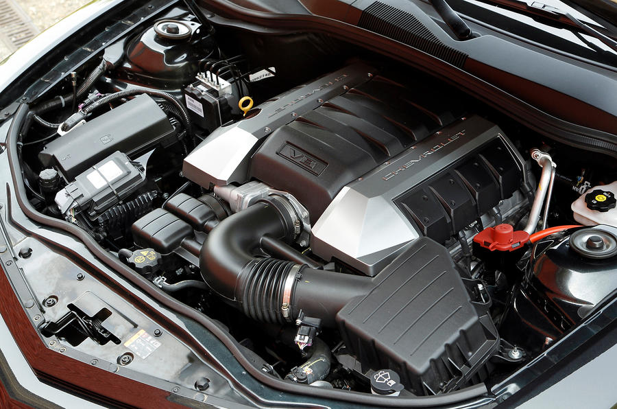 6.2-litre V8 Chevrolet Camaro engine