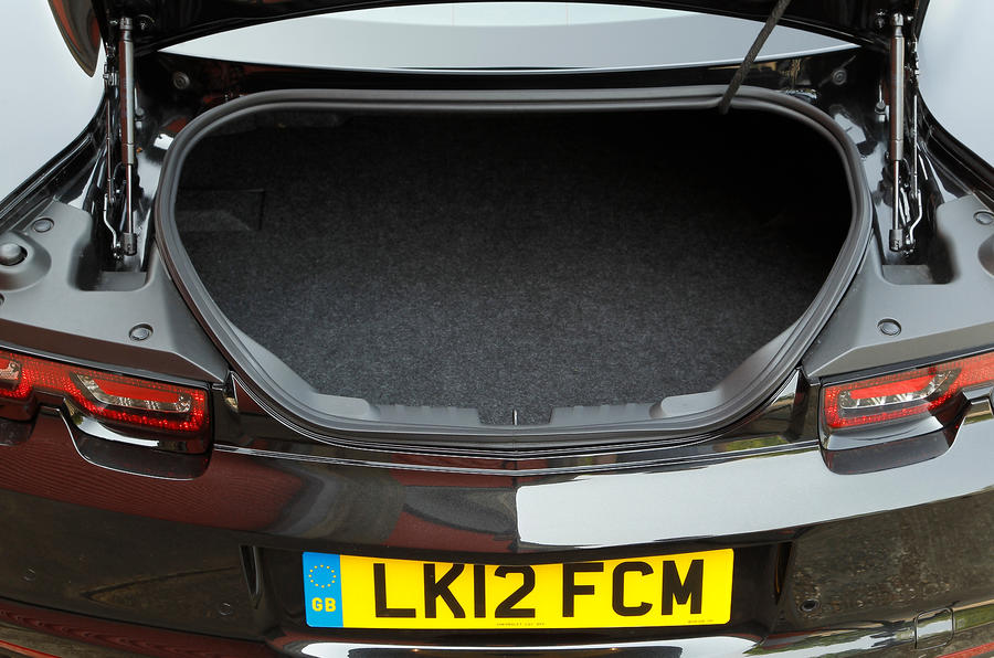 Chevrolet Camaro boot space