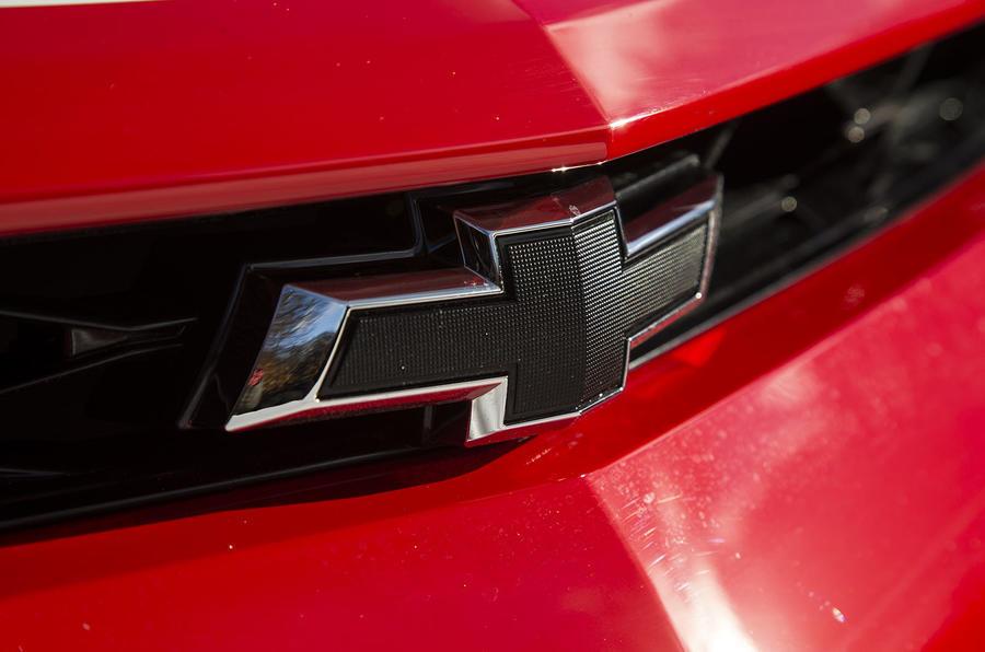 Chevrolet Camaro badging