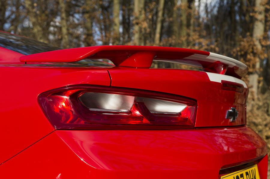 Chevrolet Camaro rear lights