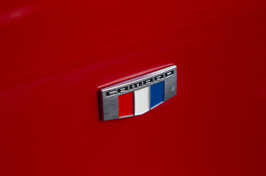 Chevrolet Camaro side badging