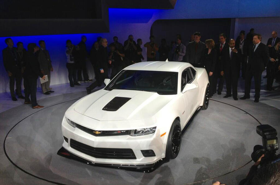 New York motor show: Chevrolet Camaro Z/28