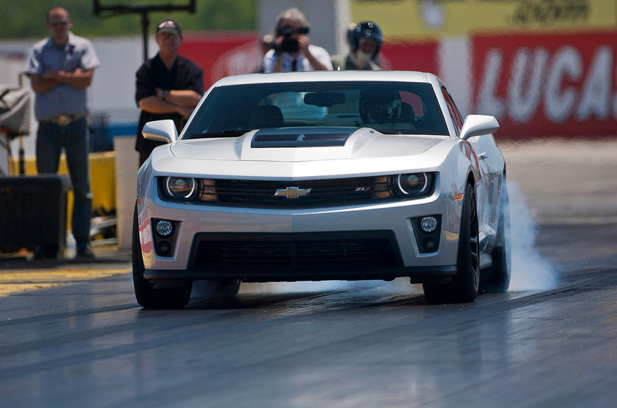 Dragging the Chevrolet Camaro ZL1