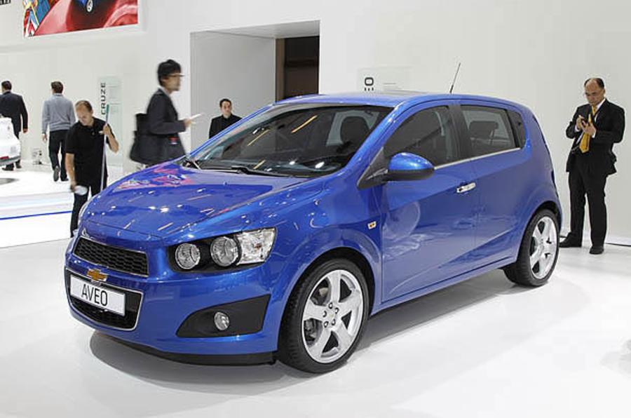 Paris motor show: Chevrolet Aveo