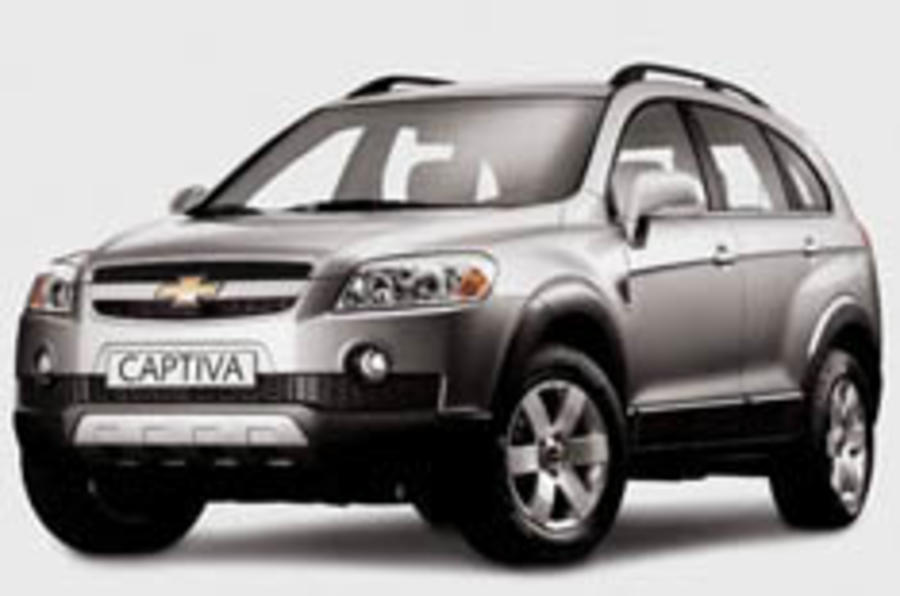 Captiva to start at under £17k