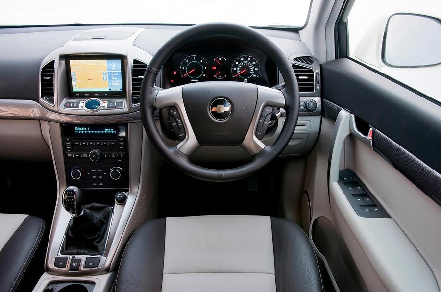 ... Chevrolet Captiva Interior ...