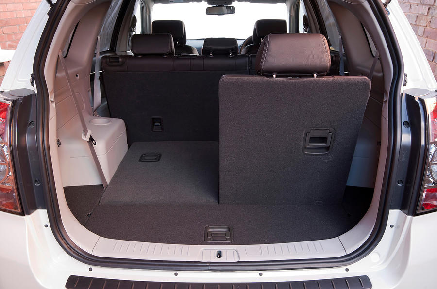 Chevrolet Captiva flexible seating